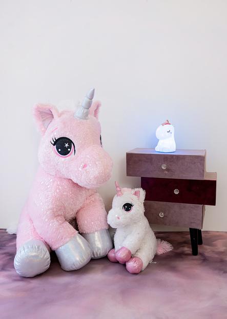 InnoGIO Maskotka GIOplush Unicorn Blanc GIO-819BLANC 80cm (4)
